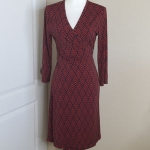 Banana Republic wrap dress with long sleeves | M